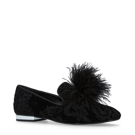 Lapin Feathered Slippers, ${color}