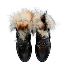Sly Faux Fur Boots