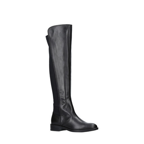 Winston Panelled Knee High Boots, ${color}