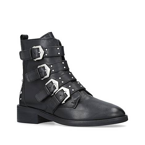 Scant Buckle Boots, ${color}
