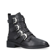 Scant Buckle Boots