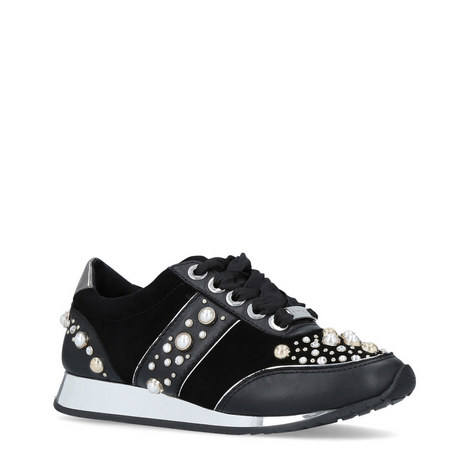 Longer Embellished Trainers, ${color}