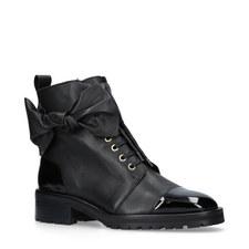 Daze Toecap Lace-Up Boots