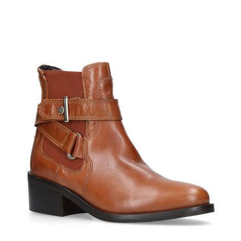 Stirrup Ankle Harness Boots, ${color}