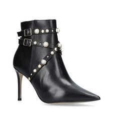 Granite Spike Heeled Boots