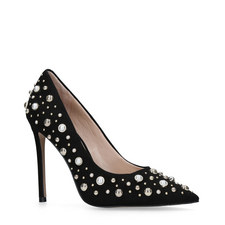 Alabaster Embellished Courts