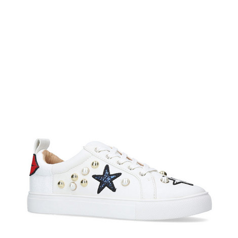 Lippy Embellished Trainers, ${color}