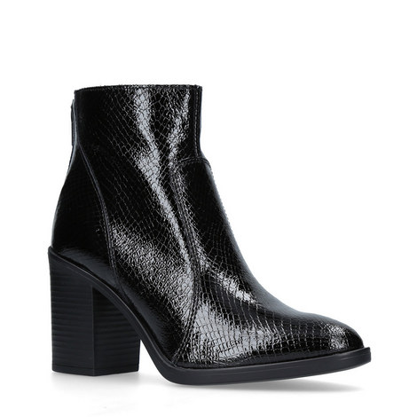Sly Embossed Ankle Boots, ${color}
