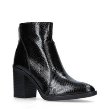Sly Embossed Ankle Boots