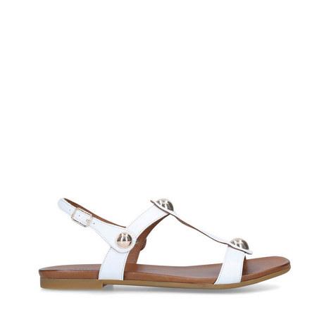 Saz Flat Sandals, ${color}