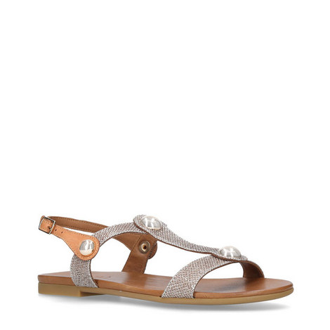 Saz Flat Sandals, ${color}