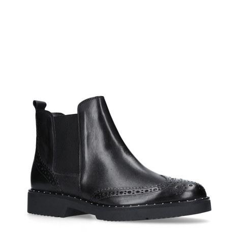 Still Wingtip Chelsea Boots, ${color}