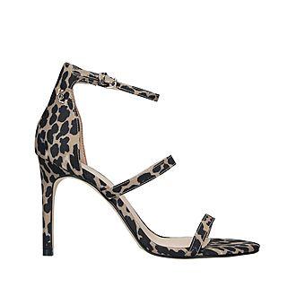 Park Lane Animal Print Sandals