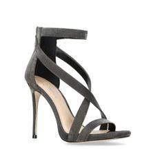 Devin Crystal Heeled Sandals