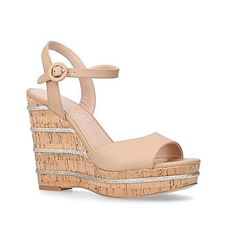 Ally Wedge Sandals