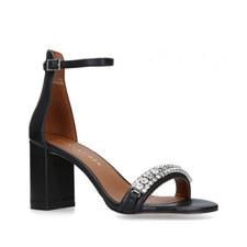 Queenie Embellished Heeled Sandals