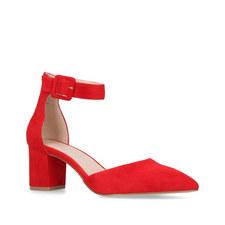 Burlington Heeled Court Shoes