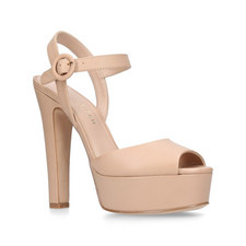 Molton Block Heel Platform Sandals