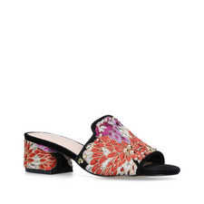 Gypsy Embroidered Heeled Sandals