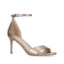 Glimmering Barely-There Heels