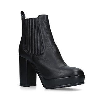 Spice Platform Chelsea Boots