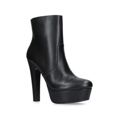 Spear Platform Ankle Boots, ${color}