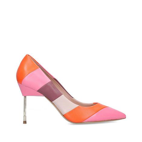 Britton Striped Heels 90, ${color}