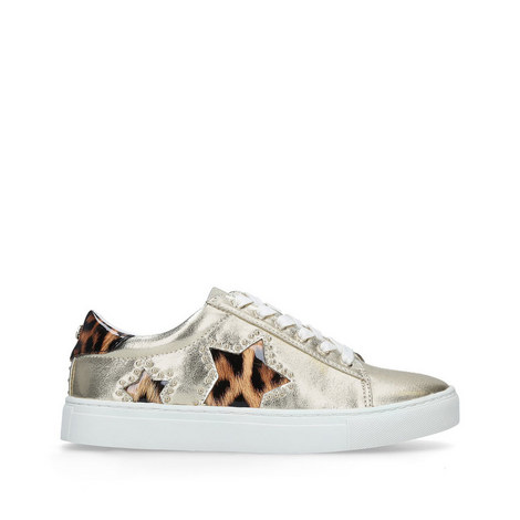 Lucie Metallic Trainers, ${color}