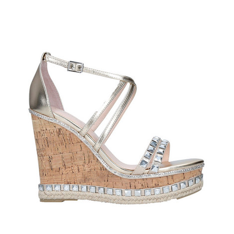 Grab Embellished Wedge Sandals, ${color}