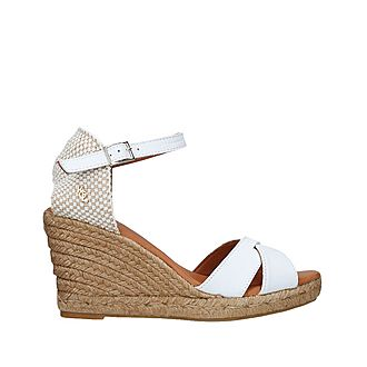 Leona Espadrille Wedge Sandals