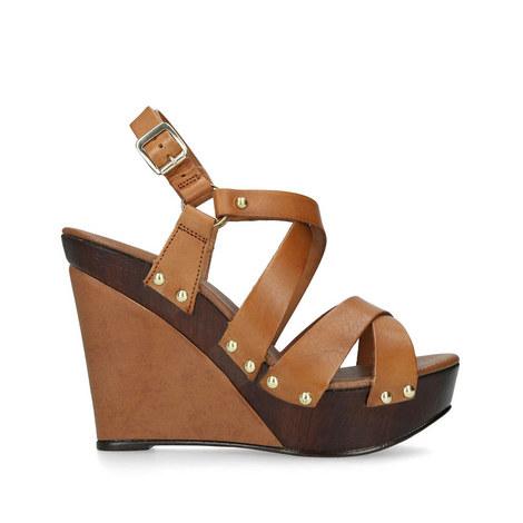 Kassandra Wedge Sandals, ${color}