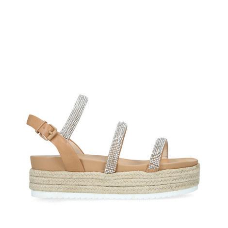 Rapid Flatform Sandals, ${color}