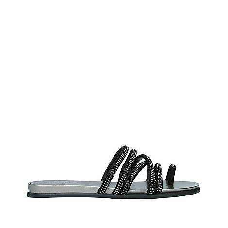Ezzina Embellished Flat Sandal, ${color}