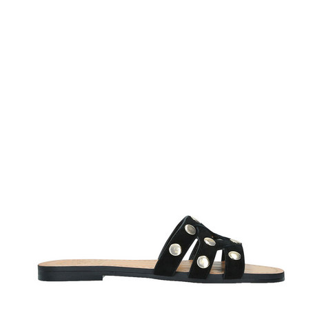 Vazista Studded Slide Sandals, ${color}