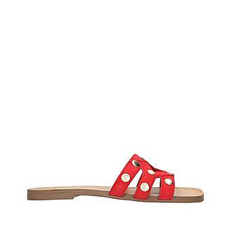 Vazista Studded Slide Sandals