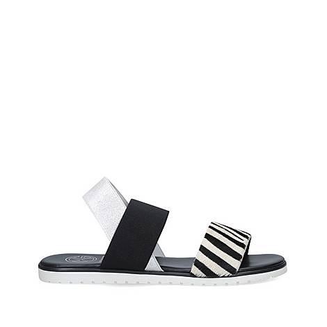 Rafi Zebra Print Sandals, ${color}