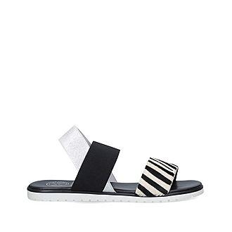 Rafi Zebra Print Sandals