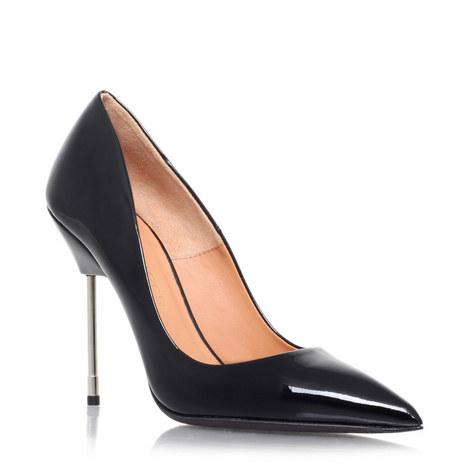 BRITTON Leather court shoes, ${color}