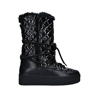 Techno Quilted Snow Boots
