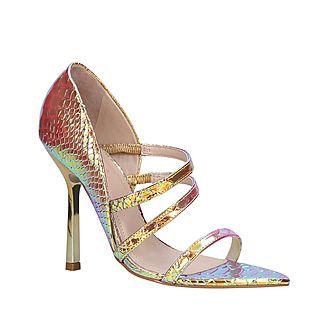 Gravitate Metallic Sandals