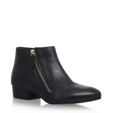 Sally Zipped Ankle Boots
