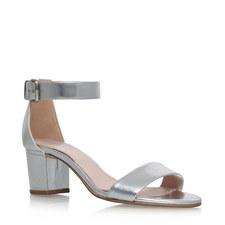 Krisp Block Heel Sandal