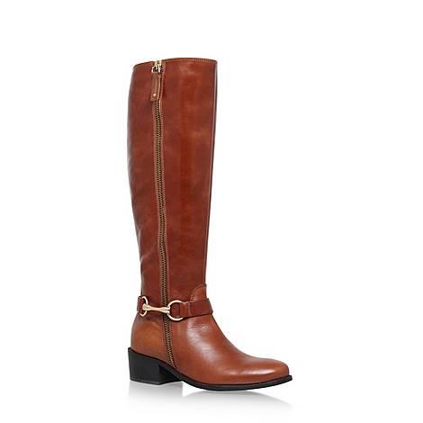 Waffle Saddle Boots, ${color}