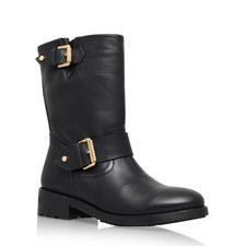 Raymond Flat Calf Boots