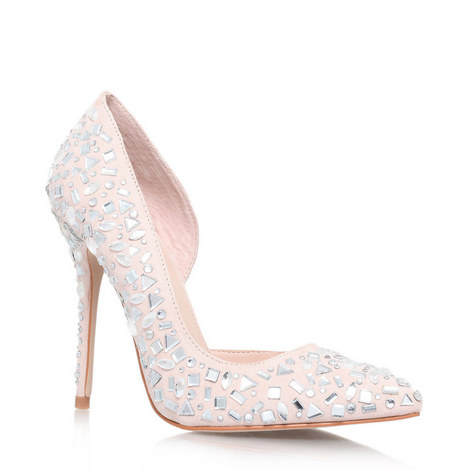 Glow Embellished Court Shoes, ${color}