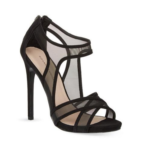 Haze Mesh Heeled Sandals, ${color}
