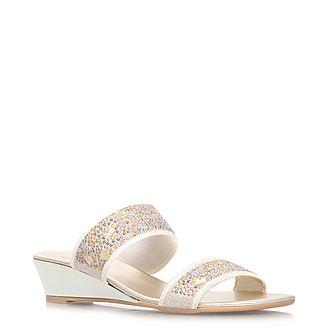 Sage Crystal Sandals