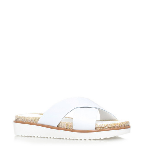 Kream Slip-On Sandals, ${color}