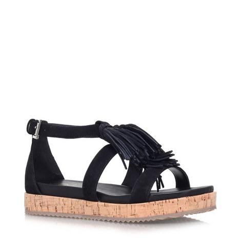 Meadow Fringe Sandals, ${color}