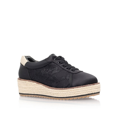 Lush Flat Low Top Trainers, ${color}